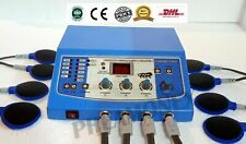 Professional Electrotherapy 4 channel Massager Machine Therapy Ship by DHL