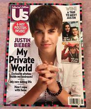 US magazine Justin Bieber Special collectors edition Photos Bedroom July 2011