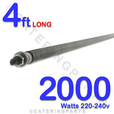 "HE4820 48"" 4 foot 1220mm 2000w 2Kw  HEATING ELEMENTS 220-240v UNIVERSAL ROD TYPE"
