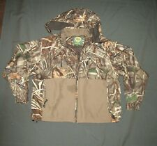 Cabelas Dry Plus Advantage 4X Insulated Wader Hunting Jacket Hood Men's XL(H5-a1