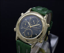 New Old Stock boys 32mm FESTINA green CHRONOGRAPH vintage quartz watch NOS