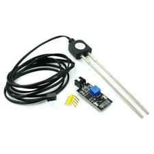 Soil Moisture Humidity Detection Corrosion Resistant Sensor Module With Probe