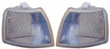 For Vauxhall Cavalier Mk3 1993-1995 Clear Front Indicator Lights Pair OS NS