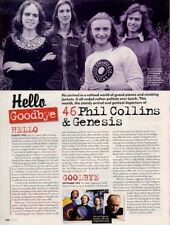 Hello, Goodbye Phil Collins & Genesis Mojo Mag Cutting