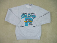 VINTAGE Portland Sea Dogs Sweater Adult Small Gray Minor League Baseball Mens