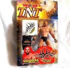 WCW /TNT Goldberg - Figur + Zubehör  ca. 18 cm  Wrestling---Neu,OVP,RARITÄT