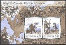 Denmark 2004 Nordic Mythology/Horn/Cattle/Ploughing/Legends 2v m/s (n42637)