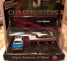 Johnny Lightning 1/64 Diorama GHOSTBUSTERS Ecto 1A Dodge Monaco Figures JLDR001