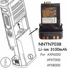 NNTN7038 Li-ion Battery 3100mAh For Motorola AXP6000 APX7000 APX8000 Radio