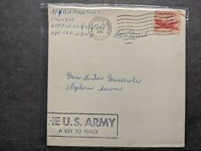 Apo 164 Karlsruhe, Germany 1958 Army Cover 809 Engr Co Soldier's Mail