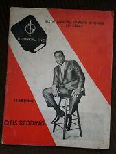 """Summer 1966 Program """"Tour of Stars"""" Sam & Dave Otis Redding Patti LaBelle +!"""