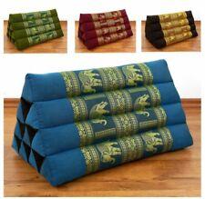 Colourful Kapok Wedge Thai Triangle, Cushion, Bed Bolster, Pillow Asia, Yoga