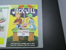 JACK & JILL CHILDREN'S MAGAZINE QUAKE CEREAL AD+ 1968