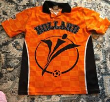Vtg 2000 Holland Netherlands National Team Euro Cup Youth Soccer Jersey