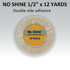 "No Shine  Support Tape 1/2"" X 12 yard Roll STRONG bond by WALKER TAPE Co"