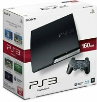 SONY PS3 PlayStation 3 160GB CECH-2500A Black Game console