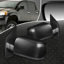 FOR 04-15 NISSAN TITAN PAIR OE STYLE MANUAL ADJUSTMENT SIDE VIEW DOOR MIRROR SET
