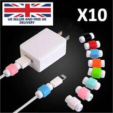 10 X Protector Saver Cover For Apple iPhone Lightning Charger Cable USB Cord
