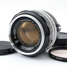 【Excellent】Nikon NIKKOR-S Auto 50mm F1.4 Non-Ai Lens From Japan 613006