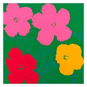 Flowers 1964 4 by Andy Warhol 54cm x 54cm High Quality Art Print