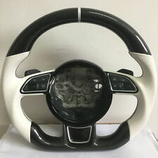 Carbon Fiber Customized Steering Wheel for Audi A7 2016 different button version