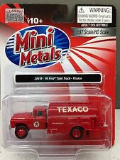 HO 1/87 Classic Metal Works # 30418 '60 Ford Tank Truck - Texaco