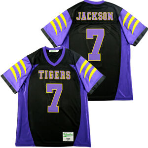 Lamar Jackson #7 Tigers High School Football Jerseys Stitched White Purple Black