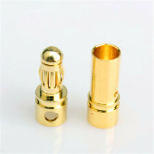 20pairs 3.5mm GOLD RC BULLET CONNECTORS PLUGS DRONE HELICOPTOR LIPO BATTERY