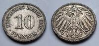 Deutsches Reich - Kaiserreich - 10 Pfennig - 1908 A (2)
