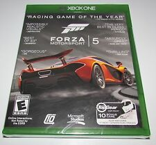 Forza Motorsport 5 (Game of the Year) for Xbox One Brand New! Factory Sealed!