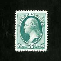 US Stamps # 158 Superb Tiny corner crease dist OG LH