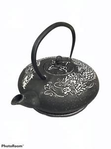Asiatische Gusseisen Teekanne inkl. Teesieb Kaffeekanne, 1,5 Liter