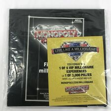 2012 Monopoly Millionaire Replacement Game Board & Instructions ONLY!!
