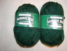 New listing 2 Skeins Kraemer Summit Hill - 100% Merino Superwash Wool. Greenstone . 460 yds