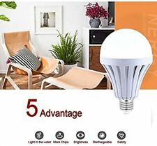 12 W 4pcs LED Intelligent Smart Bulbs Emergency Rechargeable Lamps Outdoor 265V