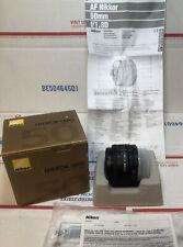 Nikon AF FX NIKKOR 50mm f/1.8D Lens for Nikon DSLR Cameras