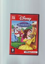 Disney's Royal Horse Show-Filles Disney Princess PC Game-Fast Post-COMPLET