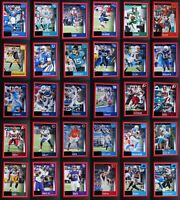 2020 Panini Score Red Parallel Football Cards Complete Your Set U Pick 1-299