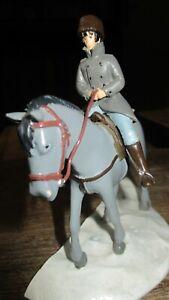 Pratt-Pixi-Corto Maltese-Sculpture Shangai li a cheval-Tirage limité 350 ex-2005