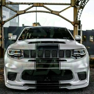 FRONT BUMPER SPLITTER LIP FOR JEEP GRAND CHEROKEE SRT8 / TRACKHAWK 2011-2020