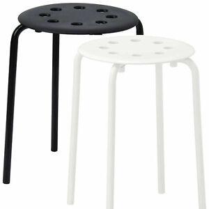 New IKEA MARIUS Stool Multi Purpose Kitchen Breakfast Bathroom Durable and Safe