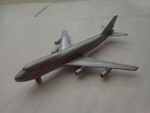 901/29 SCHABAK 1:600 BOEING 747 AMERICAN AIRLINES DIECAST AIRCRAFT PLANE