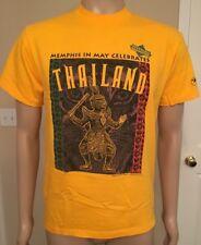 22825c1e2 Vintage 1995 Memphis in May THAILAND T Shirt USA Made ONEITA Power-T Medium