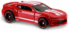 Hot Wheels DHX40 '16 CAMARO SS RED MUSCLE MANIA SHORT CARD