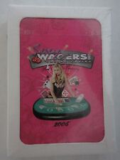 Playing Cards Sexy Wagers Online Casino Deck SEALED 2006 Poker Tournament