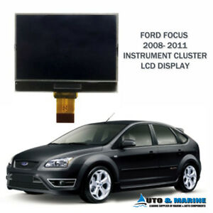 FORD FOCUS LCD VDO DISPLAY SCREEN for INSTRUMENT CLUSTER 2008 - 2011 ..NEW..