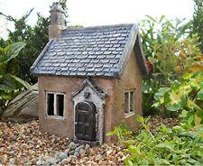 Mini Fairy Garden House Miniature Statues Cottage Small Lawn Ornament Décor Yard