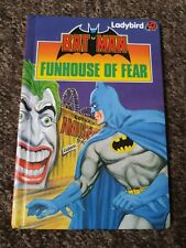 Ladybird book Vintage 80's Batman Funhouse of Fear series 8918 B7