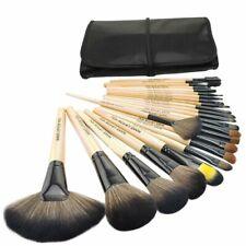 24 Pcs Professional Make Up Brush Set Foundation Kabuki Makeup Brushes Kit & Bag