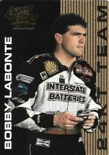 1995 ACTION PACKED *COUNTRY* BOBBY LABONTE ~24KT GOLD TEAM~ INSERT CARD #10